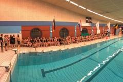 Huldiging kampioenschap zwemmen 3 klasse